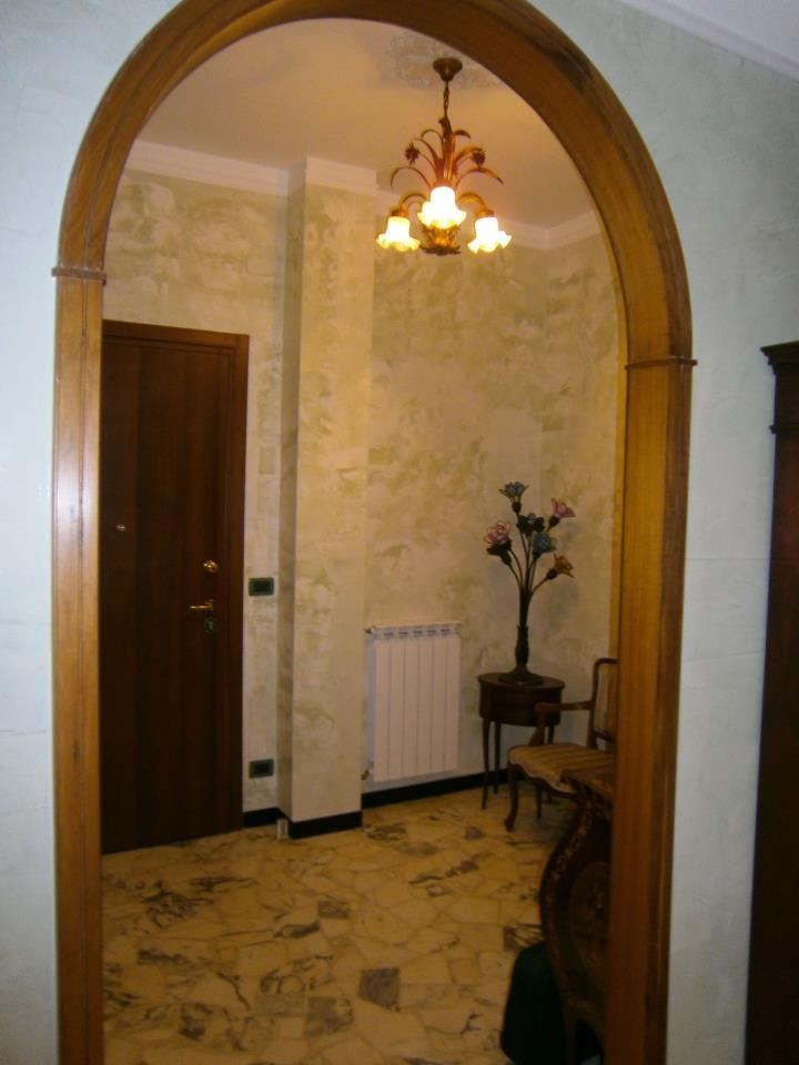 Ingresso in stucco veneziano colorificio impresa edile - Stucco veneziano in bagno ...